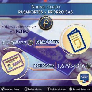 154 % aumentó Saime la emisión y prórroga del pasaporte