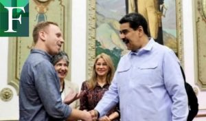 Identificaron al hombre con la camisa de los «ojitos de Chávez» frente a la Casa Blanca