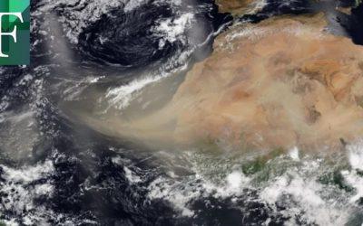 Nube de polvo del desierto del Sahara llegó al Caribe y se extenderá por América