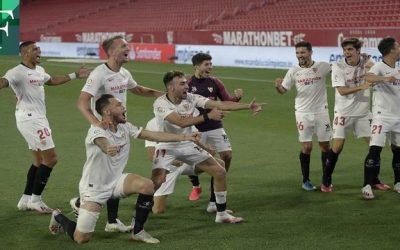 La Liga regresó con triunfo del Sevilla sobre su vecino el Real Betis