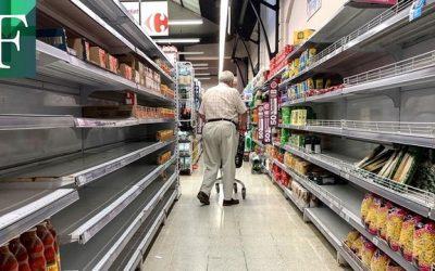 Reportan foco de coronavirus en supermercado en el este de Caracas