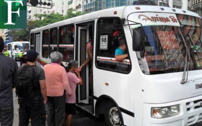 Aumento de tarifas está siendo evaluado por sector transporte