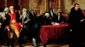 PINCELADA HISTÓRICA,  5 DE JULIO DE 1811, ¡ÁL FIN SOMOS LIBRES!
