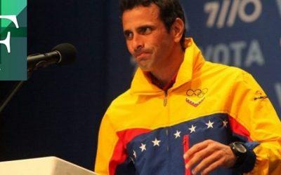 Capriles insiste en actuar en elecciones del 6 D
