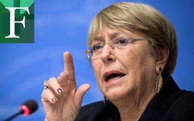 """Bachelet presentó nuevo informe sobre Venezuela: """"Me preocupa el patrón de detenciones arbitrarias, torturas y desapariciones forzadas»"""