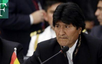 Fiscalía de Bolivia imputa a Evo Morales por terrorismo y pide su captura