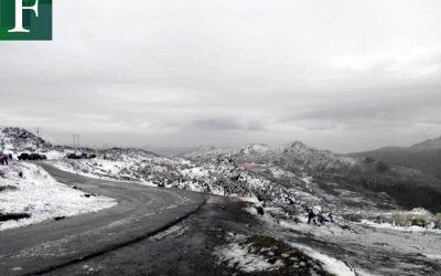 Mérida nevada: las imágenes del fin de semana