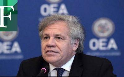 Almagro recibió resolución del TSJ en el exilio que invalida elecciones del régimen