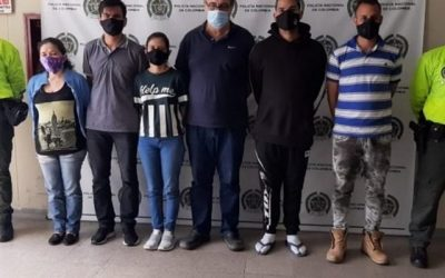 Capturaron en Medellín a 6 integrantes del Cartel de los Soles