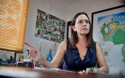 """María Corina Machado a la CEV: """"Claudicar no es una opción, ni ciudadana ni cristiana"""""""