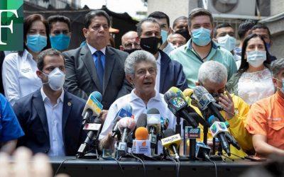 Partidos de la Unidad deciden no participarán en parlamentarias por fraudulentas