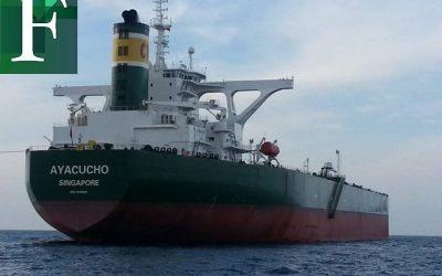 Pdvsa despachó 2 millones de petróleo en tanquero propio