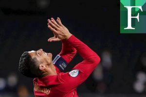 Imparable Cristiano Ronaldo con su doblete ante Suecia
