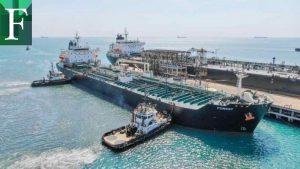 Buque iraní Forest cargado con gasolina atracó en El Palito