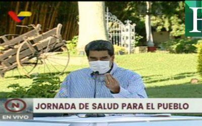 Maduro propuso aplicar la vacuna rusa a candidatos a las parlamentarias de diciembre