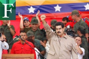 Maduro culpa a los medios de comunicación de todos sus males
