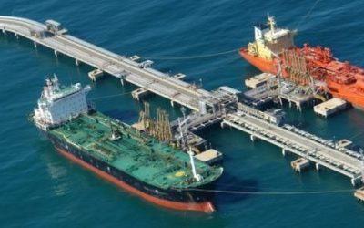 Barco de Irán descargó condensado de gas natural en el terminal de Jose