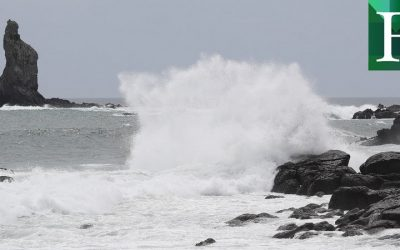 Tifón Haishen llegó este domingo al sur de Japón tras golpear a Corea del Norte