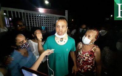Libertad plena a Dr. Williams Arrieta y presentación para policías agresores