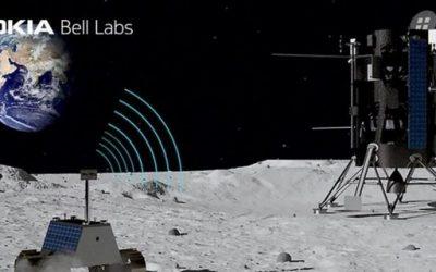 La NASA eligió a Nokia para construir la primera red móvil 4G en la Luna