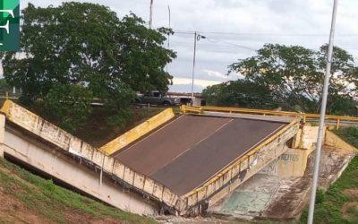 Gobernador de Anzoátegui: Por falta de mantenimiento preventivo colapsó el puente de Cantaura