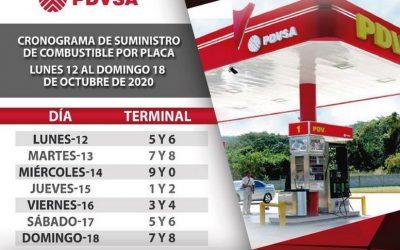 Nuevo esquema de distribución de combustible subsidiado