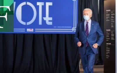 Biden se pone a la cabeza en Georgia 917 votos por encima de Trump