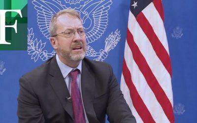 El Senado de Estados Unidos confirmó a James Story como embajador en Venezuela
