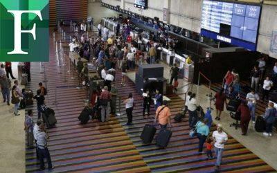 """Reanudan los vuelos internacionales entre Venezuela y cuatro """"países hermanos"""""""