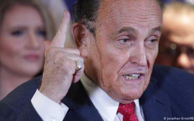Rudy Giuliani sobre elecciones EE. UU. «nos vamos a convertir en Venezuela»