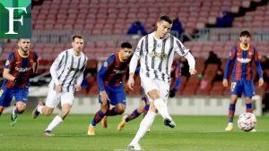 Juventus goleó al Barcelona en el Camp Nou y es primero de grupo
