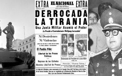 """23 DE ENERO: """"LA DEMOCRACIA ES UN PACTO POLÍTICO PARA EVITAR LA TIRANÍA"""""""