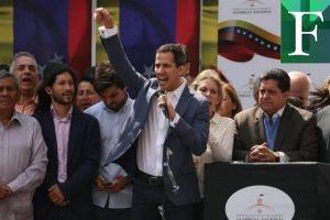 Eurocámara reiteró que reconoce a Guaidó como presidente interino de Venezuela