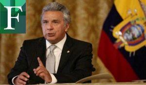 """Lenín Moreno: """"Es un peligro para la región tener un narcogobierno en Venezuela"""""""