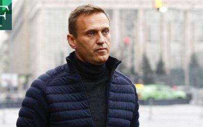 Navalny fue detenido por autoridades de Rusia en el aeropuerto de Moscú