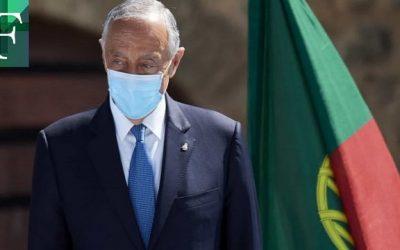 Presidente de Portugal dio positivo por coronavirus