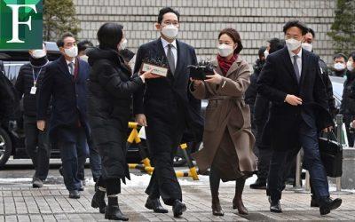Heredero de Samsung es condenado a dos años y medio de cárcel por corrupción