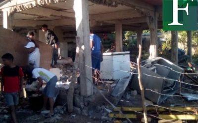 Tres heridos en una nueva explosión de bombonas de gas en Maturín