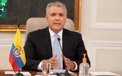 Duque extiende aislamiento selectivo en Colombia hasta el 28 de febrero