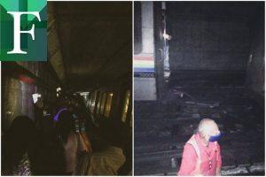 Tren del Metro de Caracas se descarriló cerca de la estación El Valle
