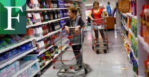 Más de 290 salarios mínimos o 350 millones de bolívares costó canasta alimentaria en enero