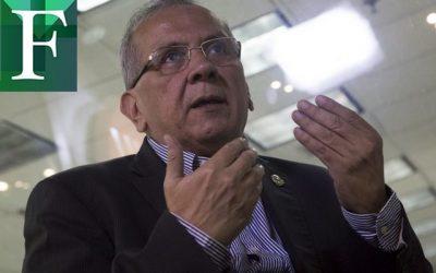 """Rodrigo Cabezas """"Mi patria amada está sumergida en un drama humano"""