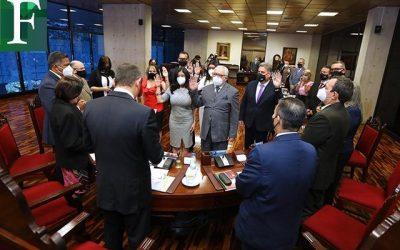 Maikel Moreno fue reelegido como presidente del TSJ