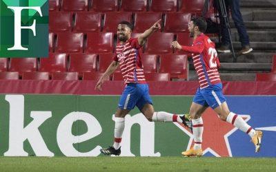 Yangel Herrera guía al Granada en victoria sobre el Nápoli
