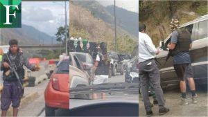 Alcabala de la DGCIM causa terror en el Distribuidor Metropolitano de Caracas
