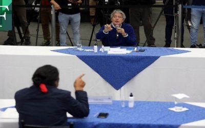 CNE de Ecuador anunció histórico acuerdo entre candidatos Guillermo Lasso y Yaku Pérez