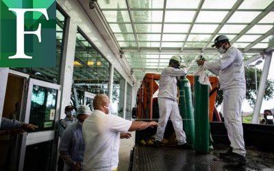Venezuela envía otros dos camiones de oxígeno a Brasil para atender covid-19
