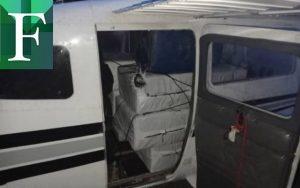 Hallaron 460 panelas de cocaína en una avioneta en Apure