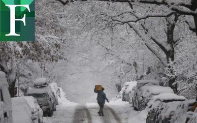 10 muertes por ola de frío en EE. UU.