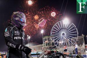 Hamilton gana en Bahréin a Verstappen en apretado final